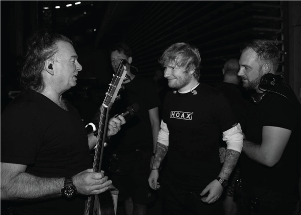 Ed Sheeran Tour Photo