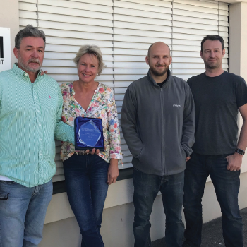 "MGM Audio - Switzerland Receives Partner Award for ""Outstanding Project Contributions"""